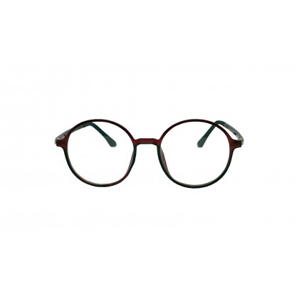 [ULTRA LIGHT] CASUAL ROUND SPECTACLES FOR UNISEX (MULTICOLOUR)