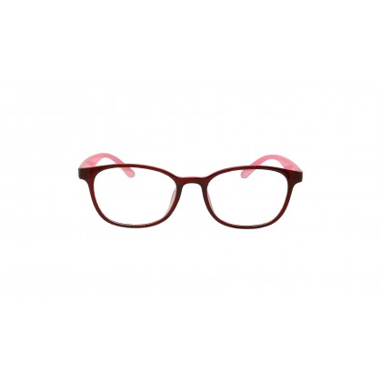 [ULTRA LIGHT] CASUAL DIAMOND SPECTACLES FOR UNISEX (PINK)