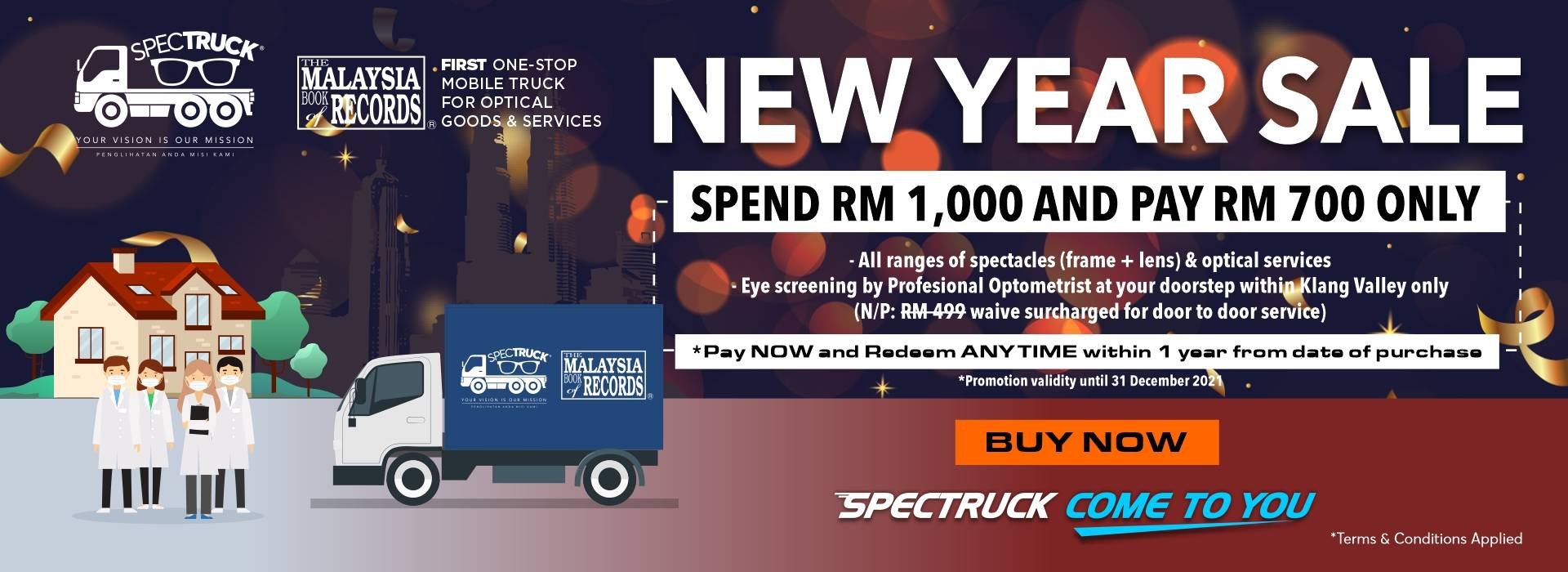 VOUCHER SPECTRUCK COME TO YOU